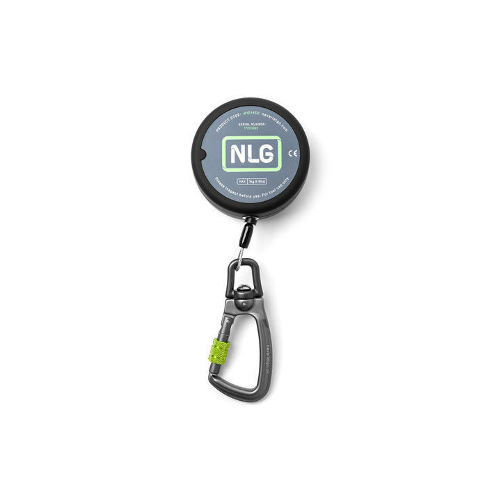 NLG Heavy Duty Retractable Tool Lanyard, Carabiner