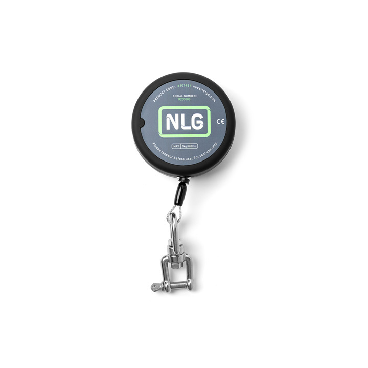 NLG Heavy Duty Retractable Tool Lanyard, Swivel