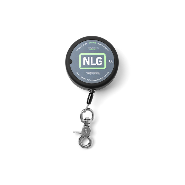 NLG Heavy Duty Retractable Tool Lanyard, Quick Clip™