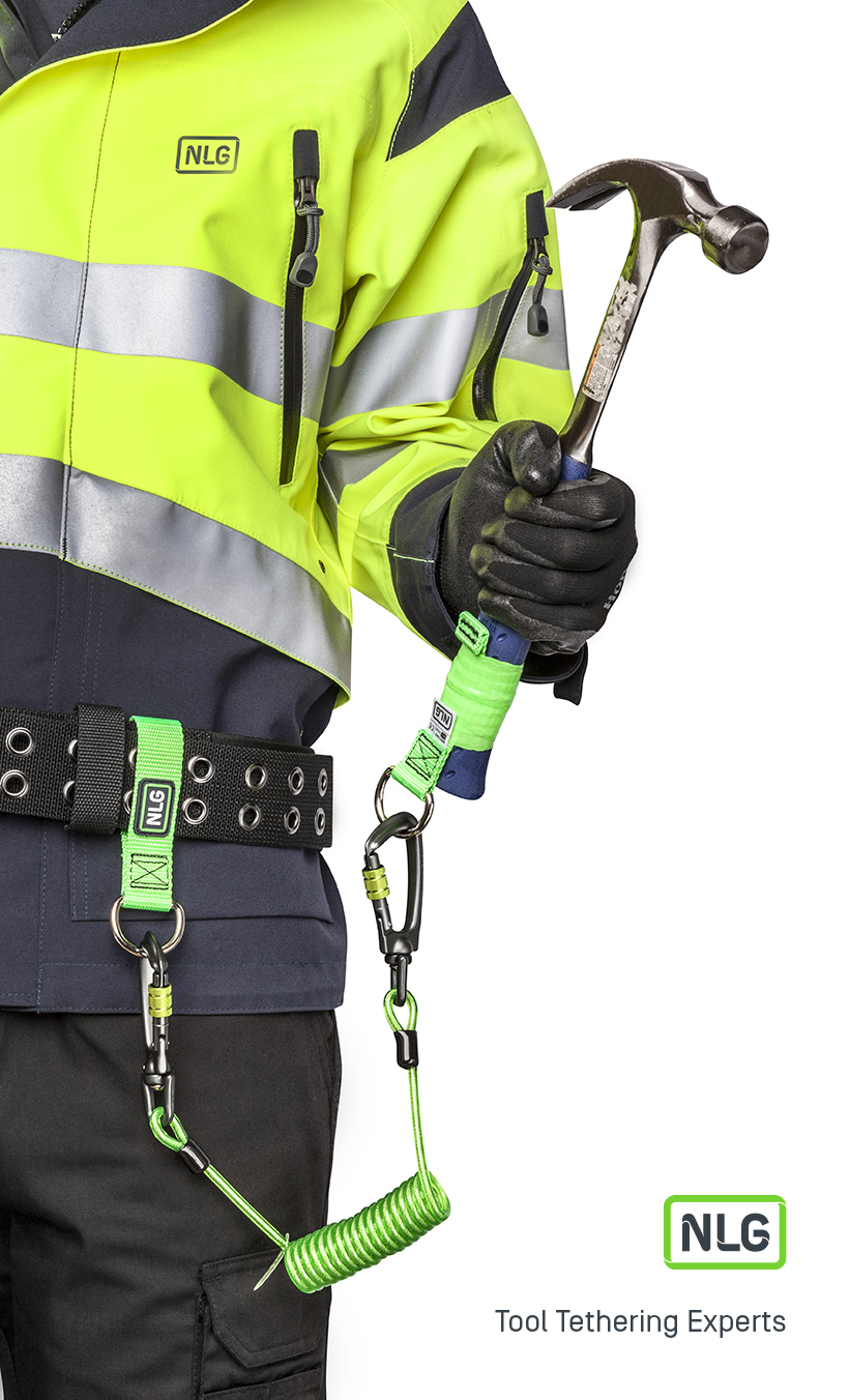 NLG Tool Lanyard System for Tethering Tools at Height