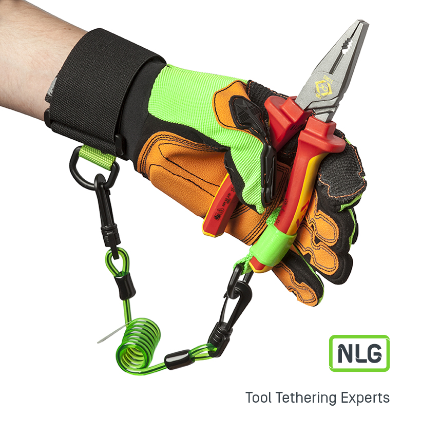 NLG Wrist Tool Lanyard for Stopping Dropped Hand Tools