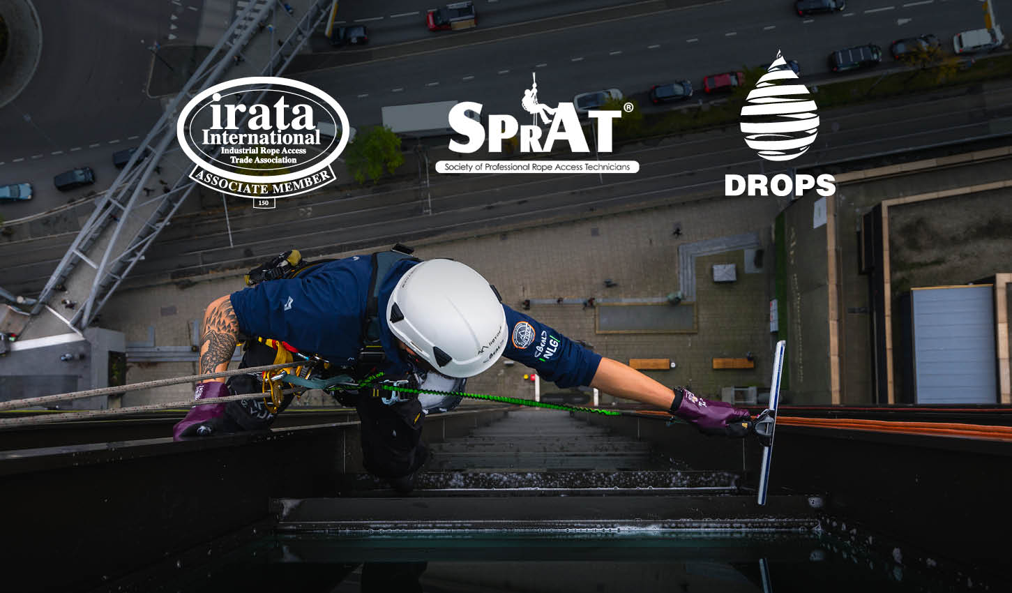 Irata Sprat Drops Approved Tool Lanyards and Tethering Equipment