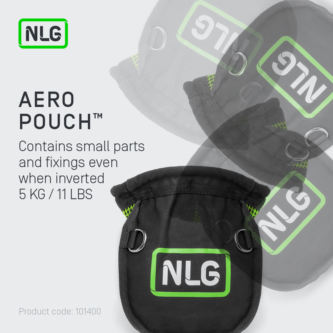 Small Parts Pouch for Dropped Object Prevention