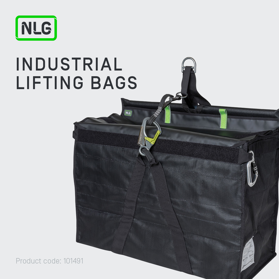 Industrial Load Rated Lifting Bags for Drop Prevention